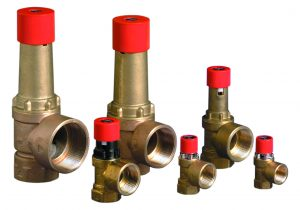 100 Series Sealed System High Capacity Pressure Relief Valves